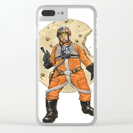 Red Six Saves the Galaxy Clear iPhone Case