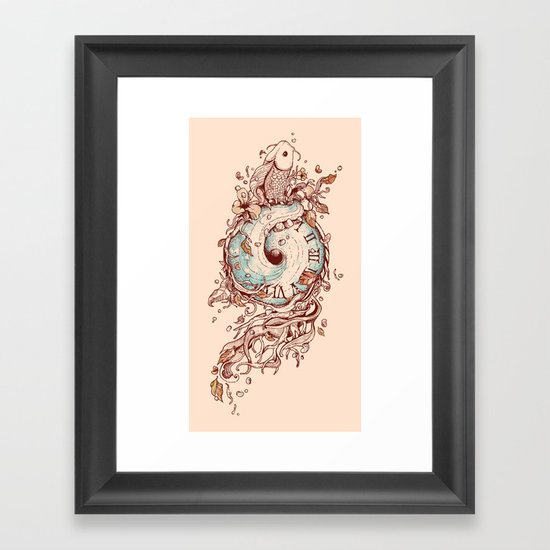 A Temporal Existence Framed Art Print