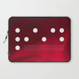 Red Abstract Passion Laptop Sleeve