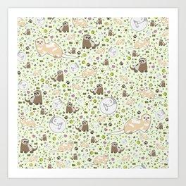 Ferret Magic Art Print