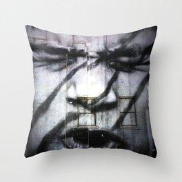 Pouting Throw Pillow