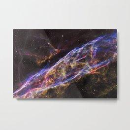 Veil Nebula Metal Print
