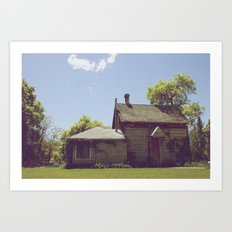 Old Home Art Print