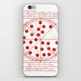 da vinci's pizza  iPhone Skin