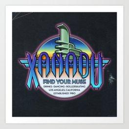 Xanadu Art Print