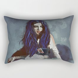 Ask Alice Rectangular Pillow