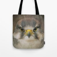 millenium falcon Tote Bags featuring Falcon by Pauline Fowler ( Polly470 )
