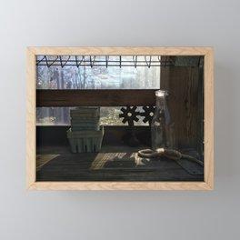 Farm Stand Framed Mini Art Print