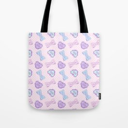 Brand Whore All Over Pink Tote Bag