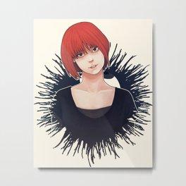 Nakamura Sawa Metal Print
