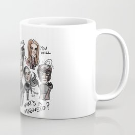 Bad X-men drawing with maximoff twins Coffee Mug