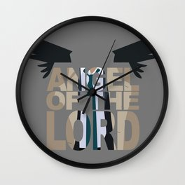 Angel of the lord Wall Clock