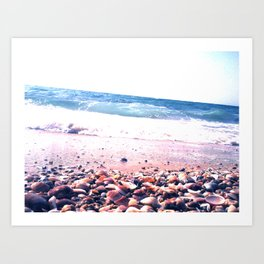 Shells party Art Print