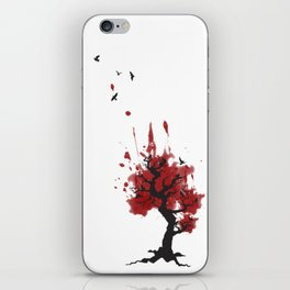 Murder in a Tree; crows iPhone Skin