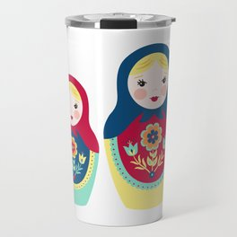 Matryoshka Dolls Travel Mug