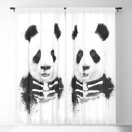 Zombie panda Blackout Curtain