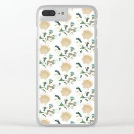 Ginkgo Floral Clear iPhone Case