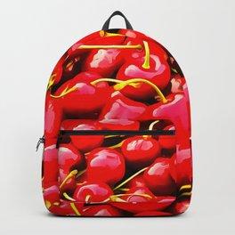 cherries pattern reacstd Backpack