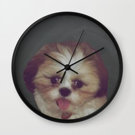Little Pup Wall Clock