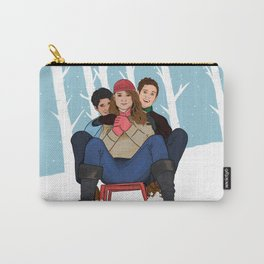 sledding  Carry-All Pouch