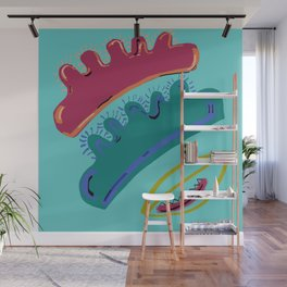 Fly Trap Wall Mural