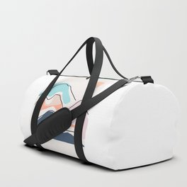 Minimalistic Landscape III Duffle Bag
