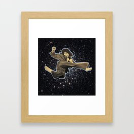 Kicking the Zodiac! Framed Art Print
