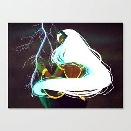 Ororo Munroe Canvas Print