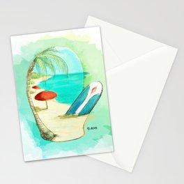 Mitten Beach Stationery Cards