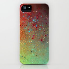 A splash of space iPhone Case