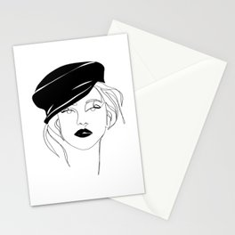 Girl In A Cap Stationery Cards