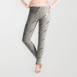 Brolga | Pattern Leggings