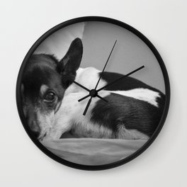 Mans Best Friend Wall Clock