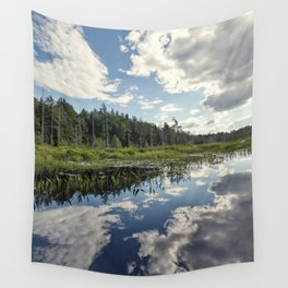 clouds and reflections Wall Tapestry