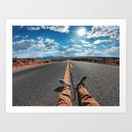 The Road To Eternity  Art Print