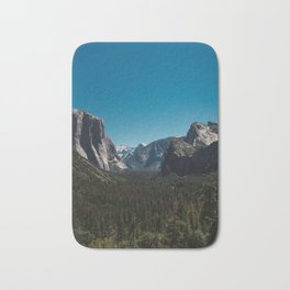 Tunnel View, Yosemite National Park II Bath Mat