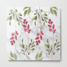 Berries Tale Metal Print
