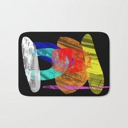 Pastel Pieces - Abstract, pastel artwork Bath Mat
