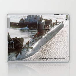 USS FRANCIS SCOTT KEY (SSBN-657) Laptop & iPad Skin