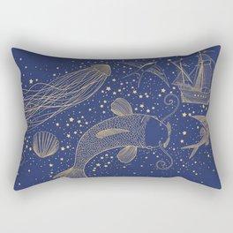 Ocean Meets Sky Hard Case Rectangular Pillow