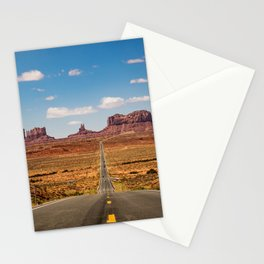 On the Open Road - Monument Valley Stationery Cards