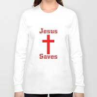 cross Long Sleeve T-shirts featuring Cross by gbcimages