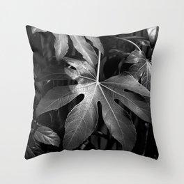 Leaves, Hida-Takayama, Japan Throw Pillow
