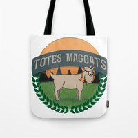 totes Tote Bags featuring Totes Magoats by LaurenPyles