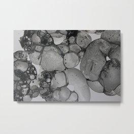 Black Suds II Metal Print