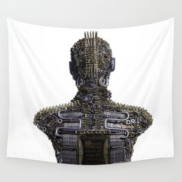 Little Warrior - How Do I Be Strong Wall Tapestry
