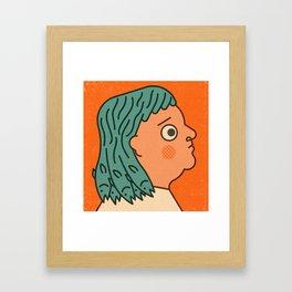 Mullet Framed Art Print