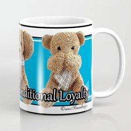 True Friendship is Unconditional Loyalty - Blue Coffee Mug