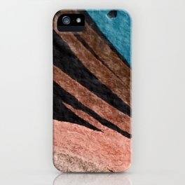 Dark Grace [2]: an abstract watercolor by Alyssa Hamilton Art iPhone Case