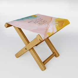 Note To Self: You Can Do This Folding Stool